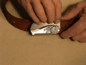 belt buckle knife instructions step 12