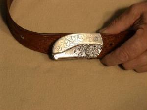 belt buckle knife instructions step 13