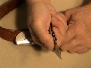 belt buckle knife instructions step 8