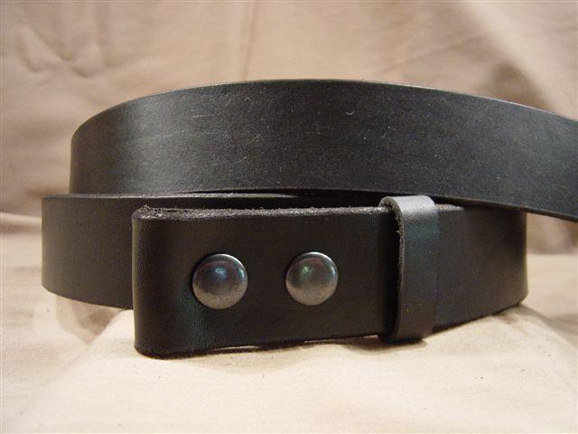 black men's women's leather belts