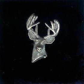 #9 belt buckle sterling silver buck
