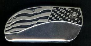 closeout flag belt knife