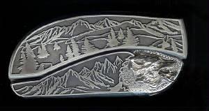 Custom Belt Buckle Knives