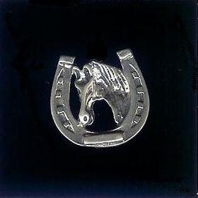 #22 horseshoe and horse